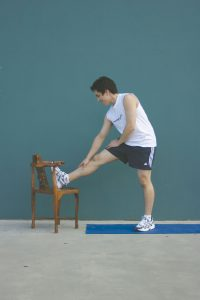 physio melbourne pre spring gardening exercises - hamstrings stretch