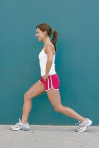 physio melbourne pre spring gardening exercises - lunging